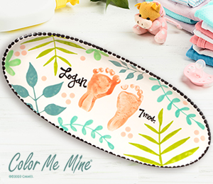 Sandy Tropical Baby Tray