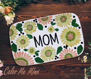 Sandy Sunflowers For Mom