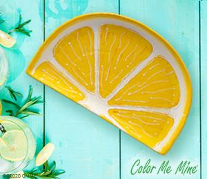 Sandy Lemon Wedge
