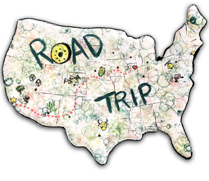 Sandy Family Road Trip