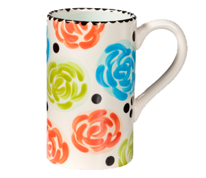 Sandy Simple Floral Mug