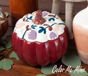 Sandy Fall Pumpkin Box