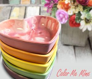 Sandy Candy Heart Bowls