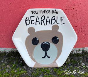 Sandy Bearable Plate