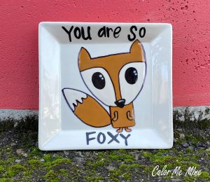 Sandy Fox Plate