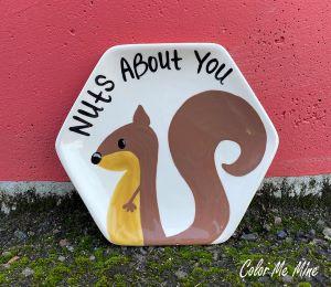 Sandy Squirrel Plate